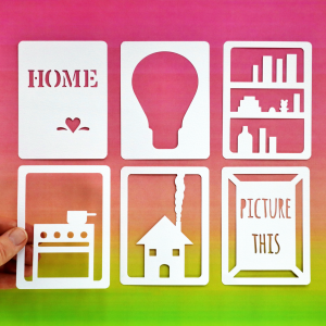 Home 3x4 Cards Happy Scatter