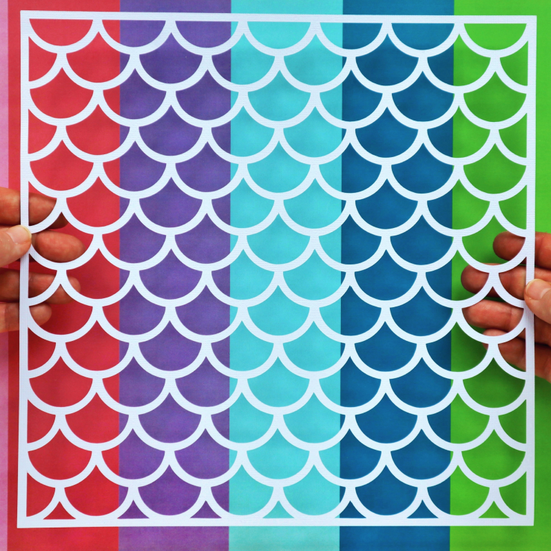 Mermaid Scales Cut For You File Happy Scatter